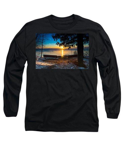 Bluff  Benches Long Sleeve T-Shirt