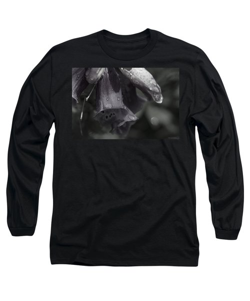 Flowers And Tiny Water Droplets Long Sleeve T-Shirt
