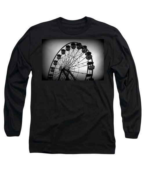 Long Sleeve T-Shirt featuring the photograph Boardwalk Beauty by Laurie Perry