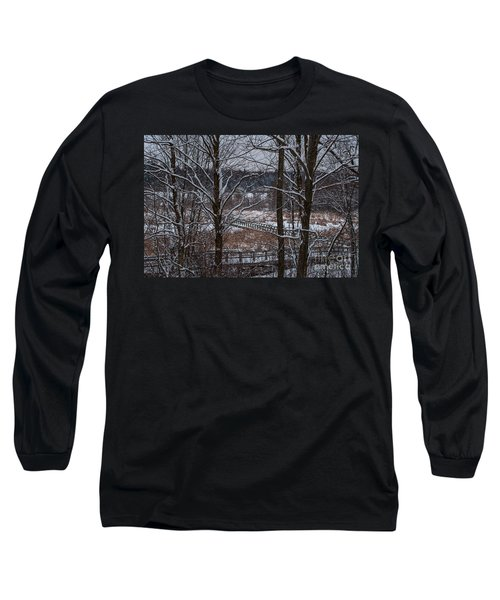 Long Sleeve T-Shirt featuring the photograph Boardwalk Series No3 by Bianca Nadeau