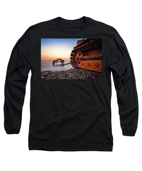Boat Tractor Long Sleeve T-Shirt