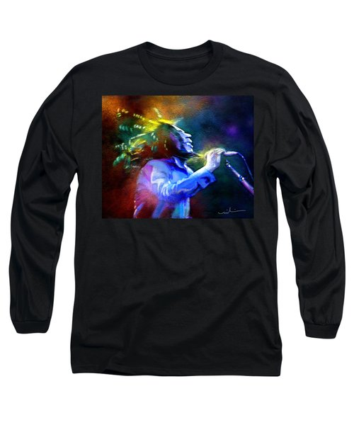 Bob Marley 01 Long Sleeve T-Shirt