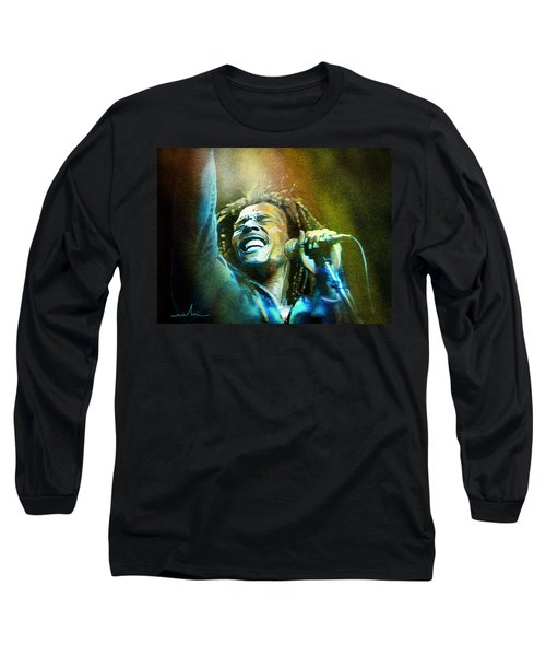 Bob Marley 06 Long Sleeve T-Shirt