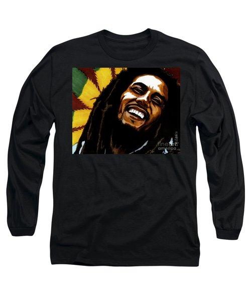 Bob Marley Rastafarian Long Sleeve T-Shirt