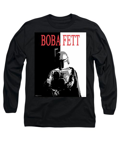Boba Fett- Gangster Long Sleeve T-Shirt