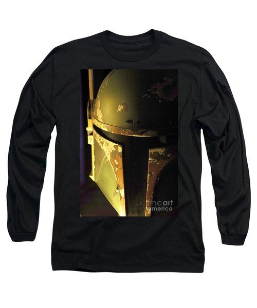 Boba Fett Helmet 124 Long Sleeve T-Shirt