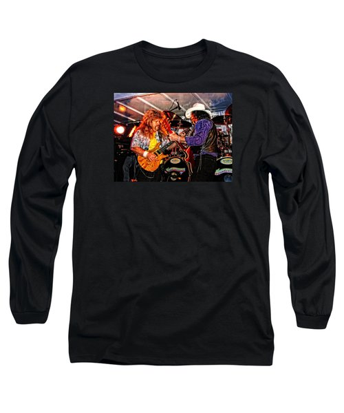 Long Sleeve T-Shirt featuring the photograph Bobby And Russ Jammin' by Mike Martin