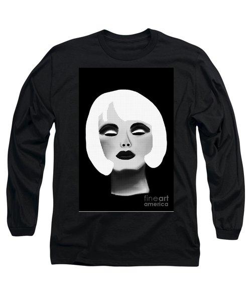 Bold Blonde Beauty Long Sleeve T-Shirt