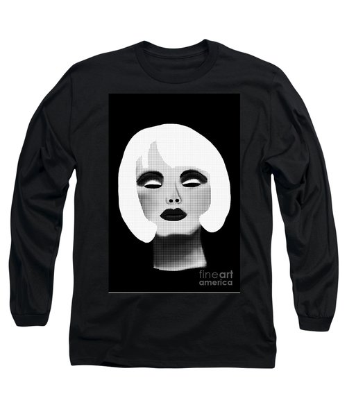 Bold Blonde Beauty Long Sleeve T-Shirt