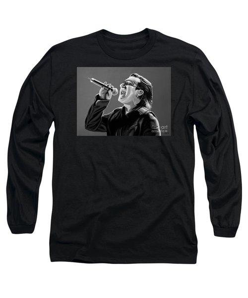 Bono U2 Long Sleeve T-Shirt by Meijering Manupix