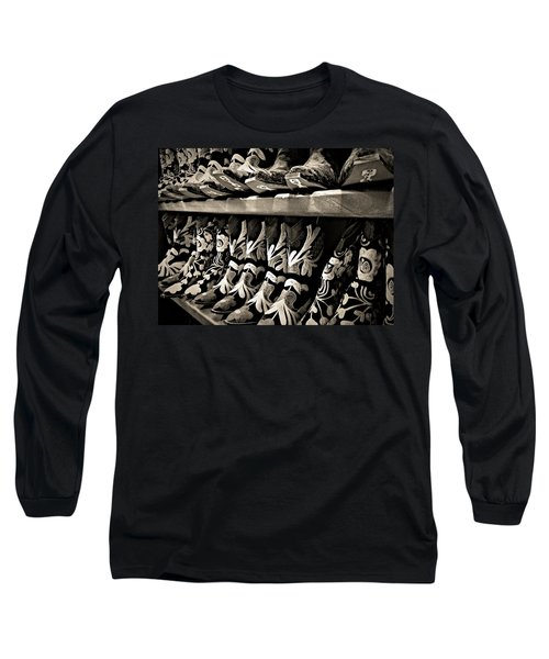 Boot Camp Long Sleeve T-Shirt by Mark David Gerson
