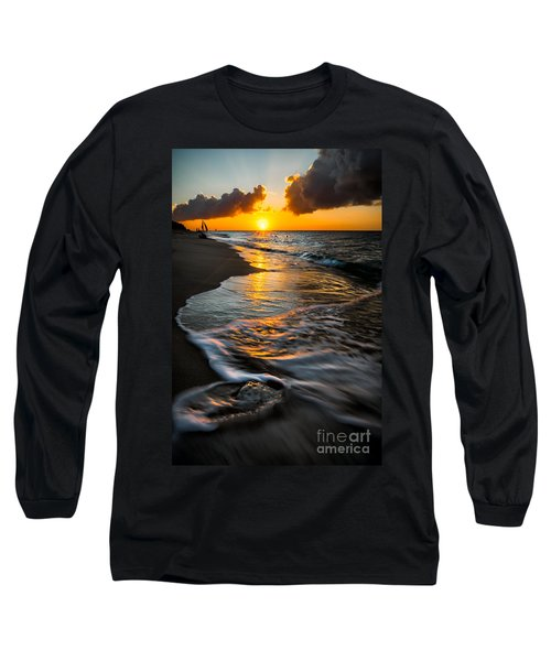 Boracay Sunset Long Sleeve T-Shirt by Adrian Evans