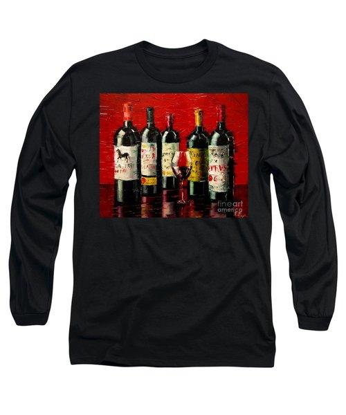Bordeaux Collection Long Sleeve T-Shirt