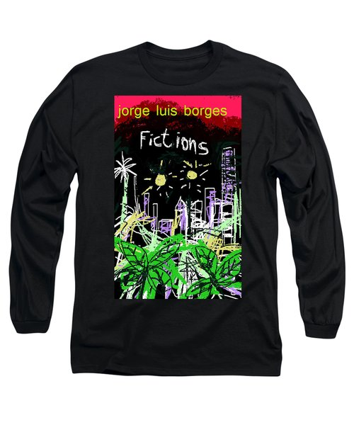 Borges Fictions Poster  Long Sleeve T-Shirt