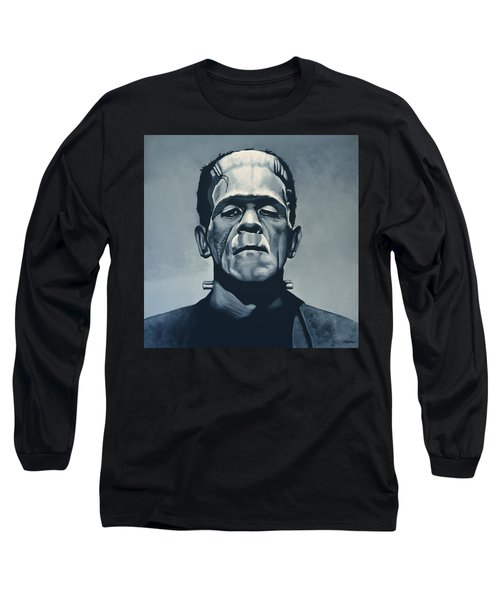 Boris Karloff As Frankenstein  Long Sleeve T-Shirt