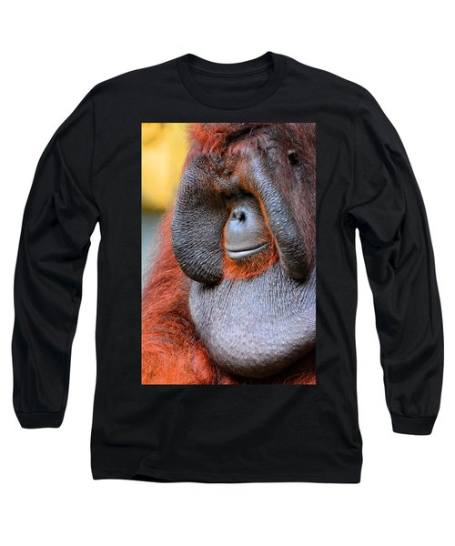 Bornean Orangutan Vi Long Sleeve T-Shirt