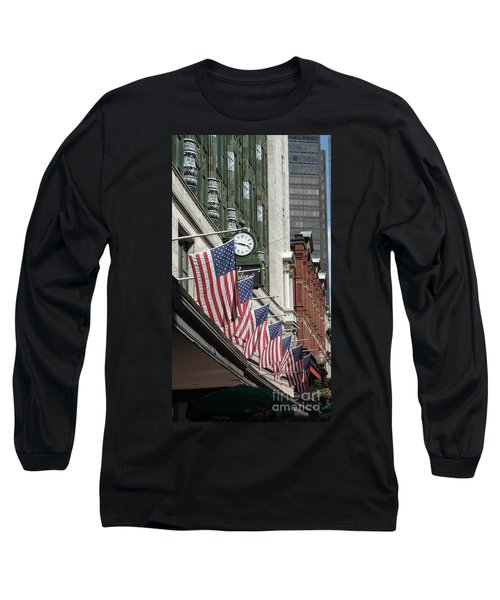 Boston 4th Of July Long Sleeve T-Shirt