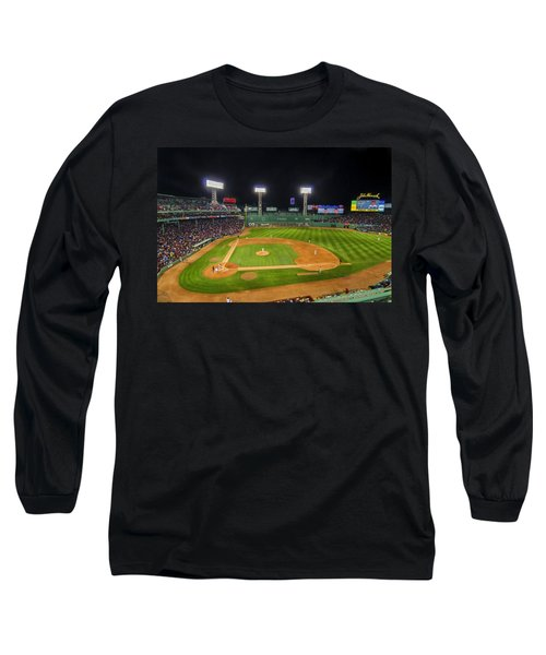 Boston Red Sox And New York Yankees At Fenway Park - Art Long Sleeve T-Shirt