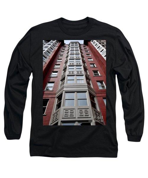Boston Skyscraper Long Sleeve T-Shirt