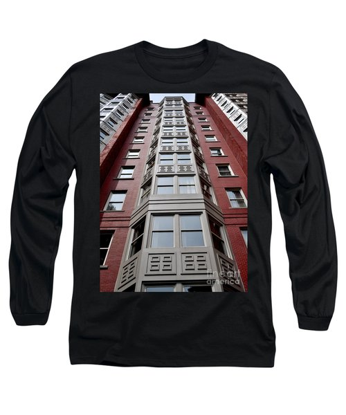 Boston Skyscraper Long Sleeve T-Shirt