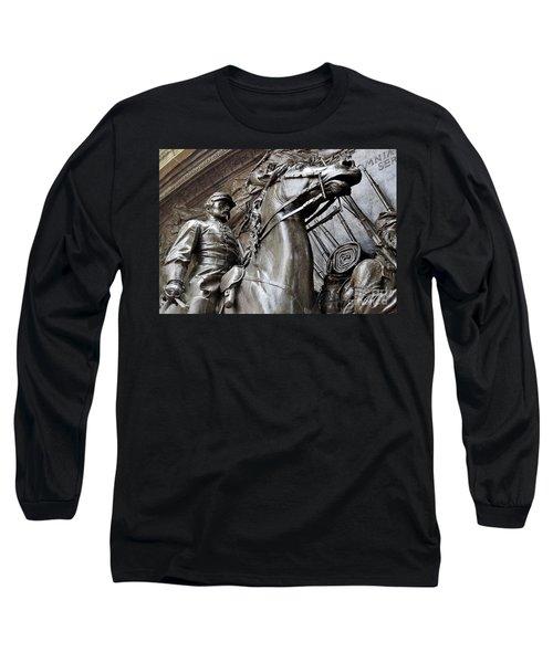 Robert Gould Shaw Memorial Long Sleeve T-Shirt