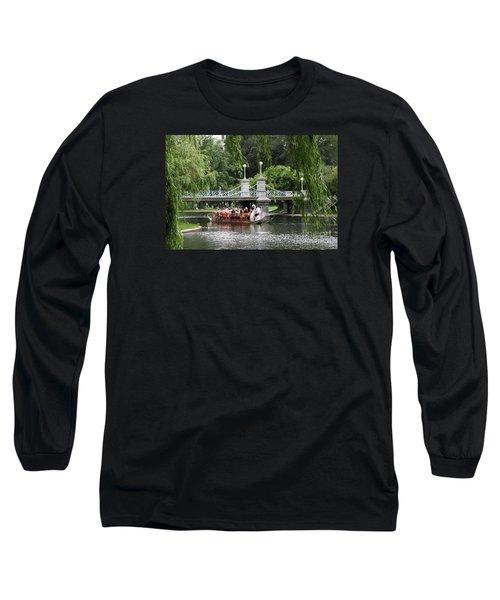 Boston Swan Boat Long Sleeve T-Shirt