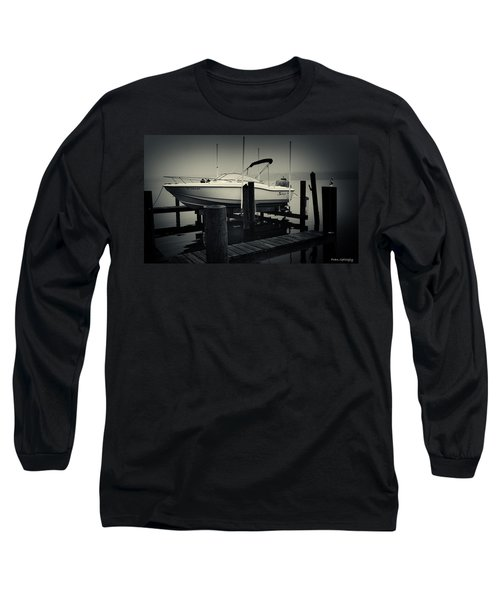 Boston Whaler In The Fog Long Sleeve T-Shirt