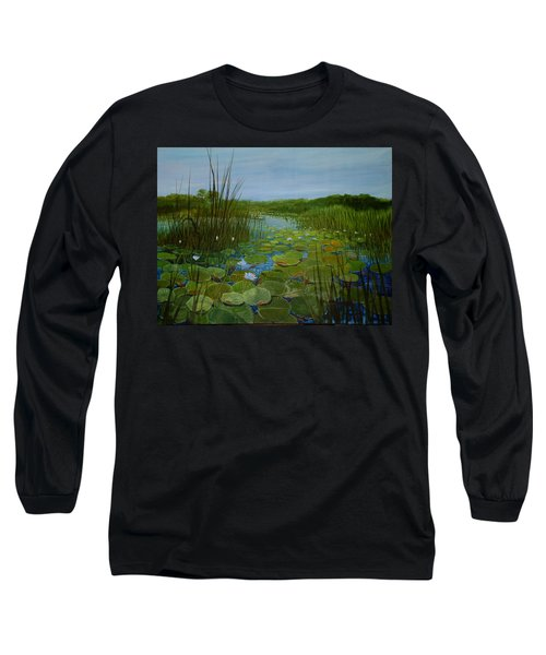 Botswana Lagoon Long Sleeve T-Shirt