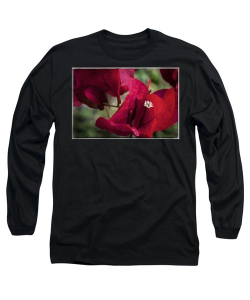 Long Sleeve T-Shirt featuring the photograph Bougainvillea by Steven Sparks