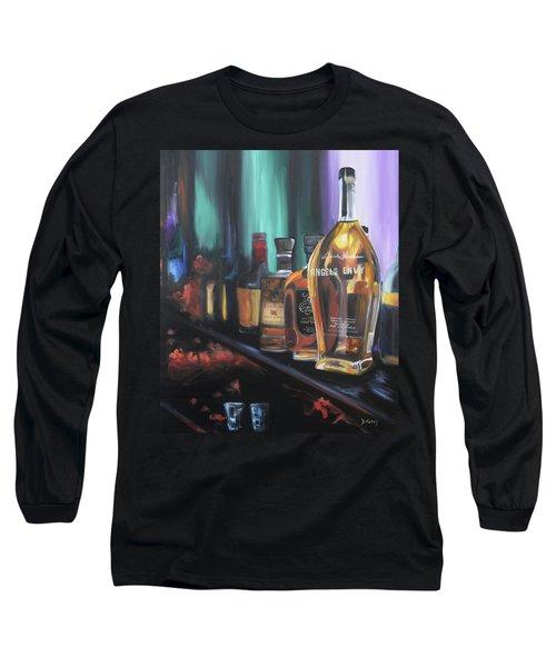 Bourbon Bar Long Sleeve T-Shirt by Donna Tuten