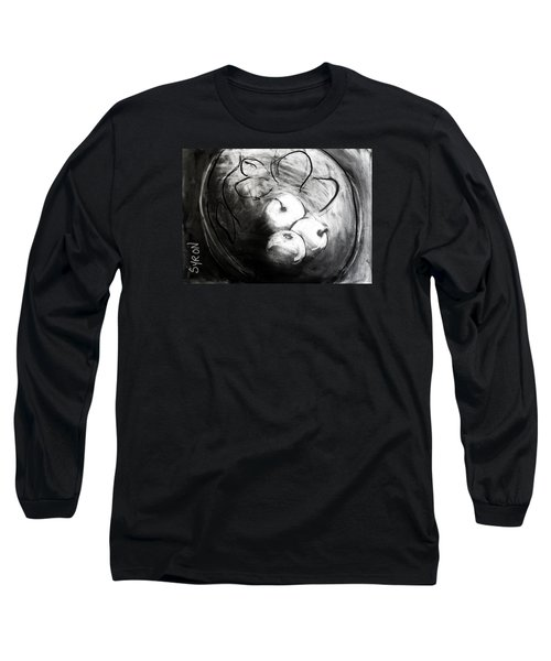 Bowl Long Sleeve T-Shirt by Helen Syron