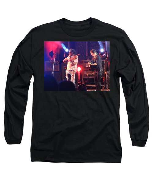 Long Sleeve T-Shirt featuring the photograph Boyd And Dave by Aaron Martens