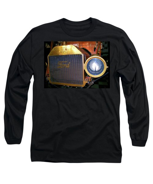 Long Sleeve T-Shirt featuring the photograph Brass Eye by Larry Bishop
