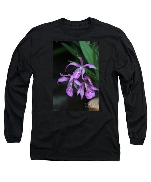 Brassanthe Maikai Orchid Long Sleeve T-Shirt