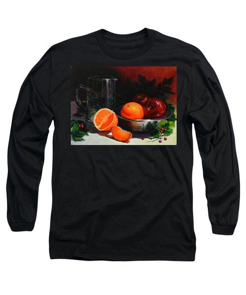 Breakfast Fruits, Peru Impression Long Sleeve T-Shirt