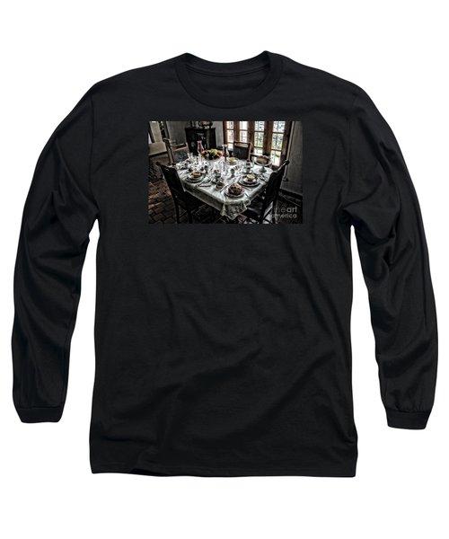 Downton Abbey Breakfast Long Sleeve T-Shirt