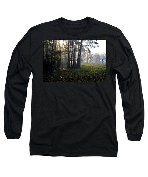 Breaking Through Morning Fog Long Sleeve T-Shirt