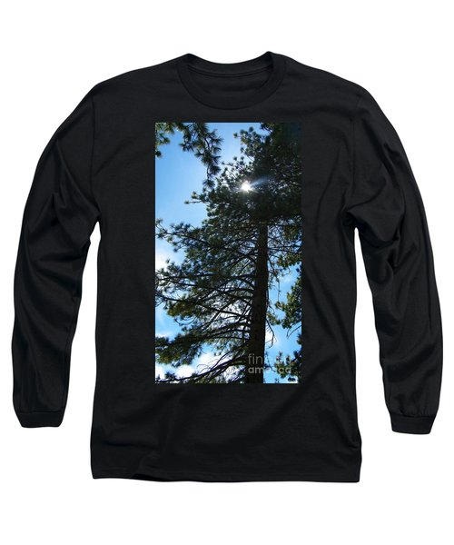 Long Sleeve T-Shirt featuring the photograph Breakthrough by Bobbee Rickard