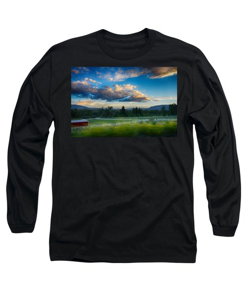 Breathtaking Colorado Sunset 1 Long Sleeve T-Shirt