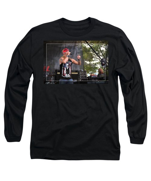 Bret Making Music Long Sleeve T-Shirt