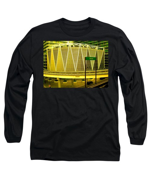 Brickell Station In Miami Long Sleeve T-Shirt