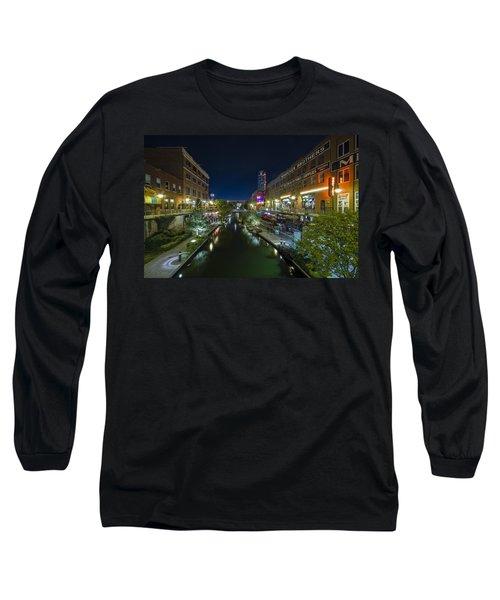 Bricktown Canal Long Sleeve T-Shirt