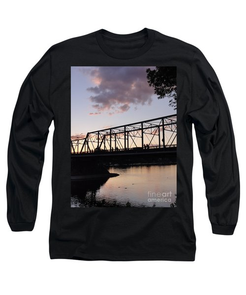 Bridge Scenes August - 1 Long Sleeve T-Shirt
