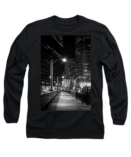 Long Walk Home Long Sleeve T-Shirt by Melinda Ledsome