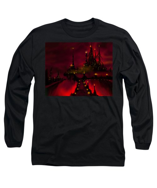 Bridge To Red Castle Long Sleeve T-Shirt