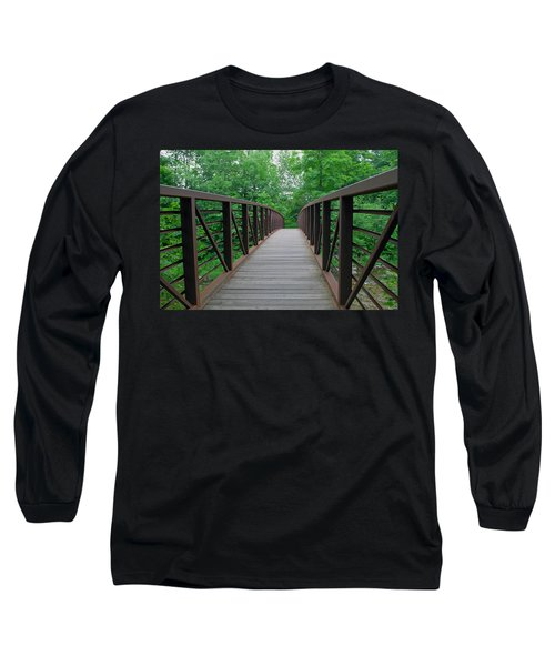 Bridging The Gap Long Sleeve T-Shirt by Lisa Phillips