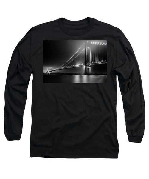 Bridging Verrazano Narrows Long Sleeve T-Shirt