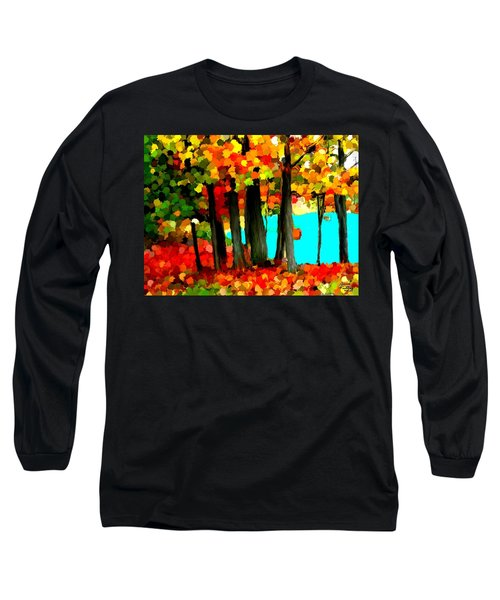 Brightness In The Forest Long Sleeve T-Shirt