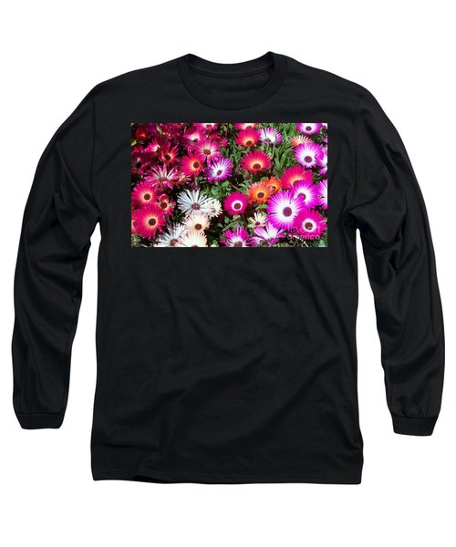 Long Sleeve T-Shirt featuring the photograph Brilliant Flowers by Chalet Roome-Rigdon