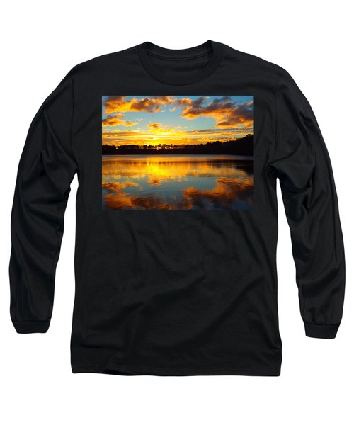 Long Sleeve T-Shirt featuring the photograph Brilliant Sunrise by Dianne Cowen